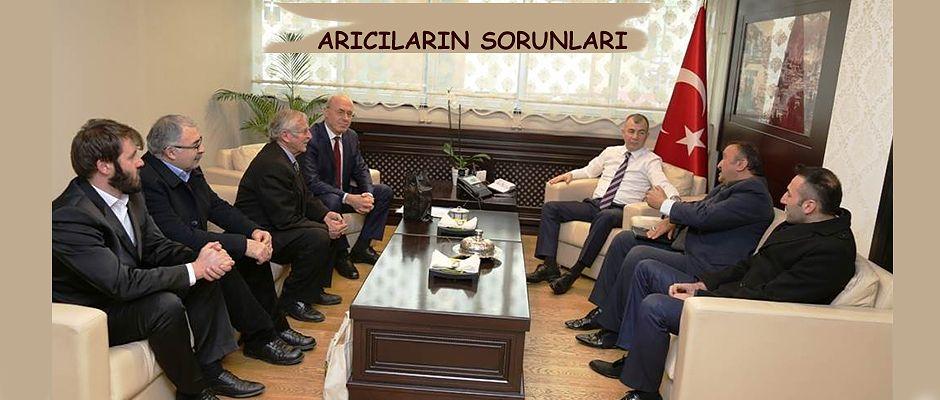 ARICILARIN SORUNLARINI DİNLEDİ