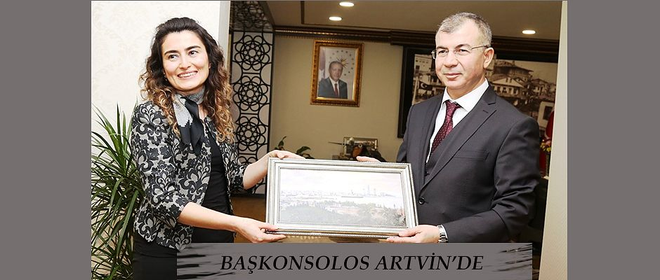 BATUM BAŞKONSOLOSU KOÇAK, ARTVİN'DE