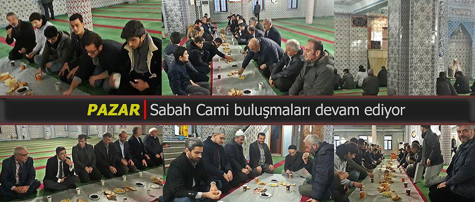 Cami-Gençlik buluşması Pazar Mesleki ve Teknik Anadolu Lisesi öğrencileriyle devam etti.