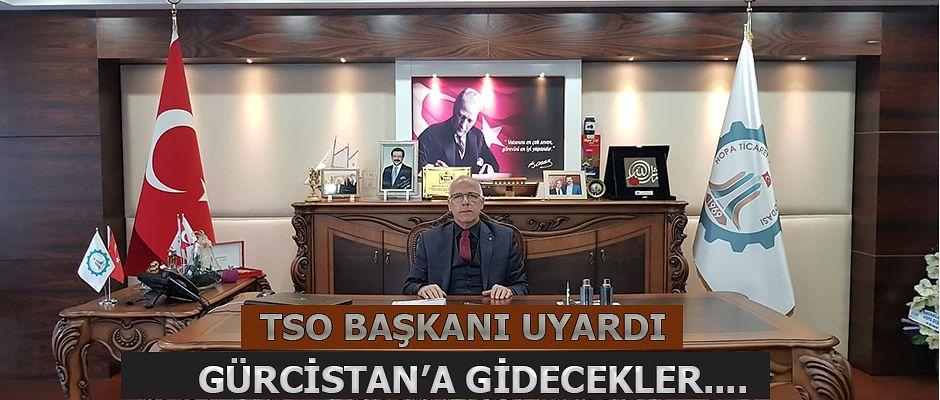HOPA TSO BAŞKANI AKYÜREK'TEN UYARI GELDİ.