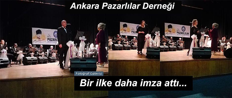 Pazarlar Ankara'yı coşturdu.