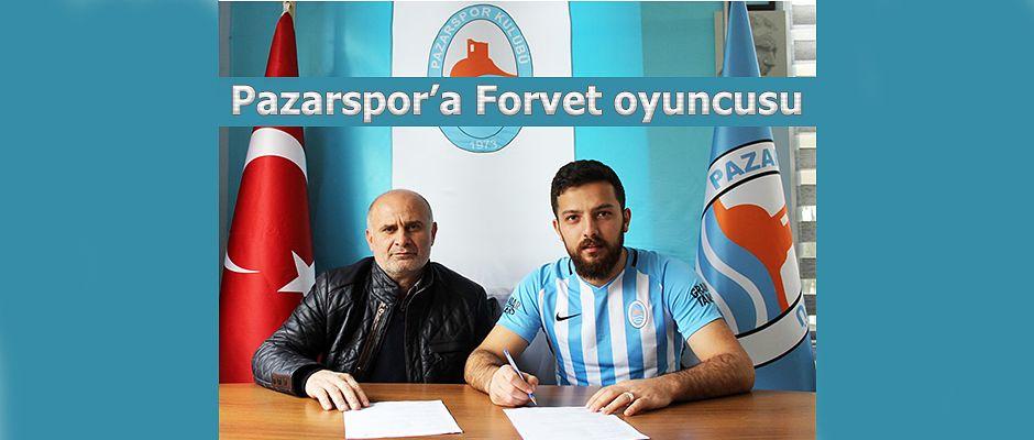 Pazarspor Forvete takviye yaptı