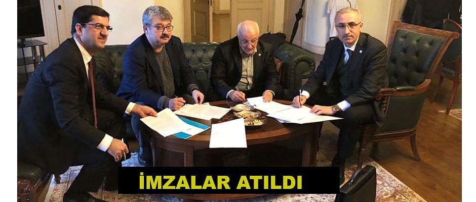 RTEÜ'de Teknokent Kurulması İçin İlk İmzalar Atıldı