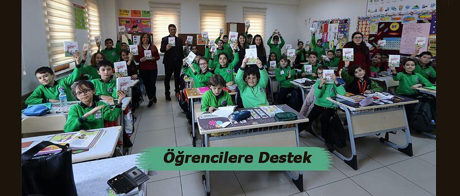 Sağlık Müdürlüğünden Öğrencilere Destek