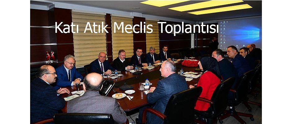 TRABZON VE RİZE İLLERİ KATI ATIK TOPLANTISI GERÇEKLEŞTİRİLDİ