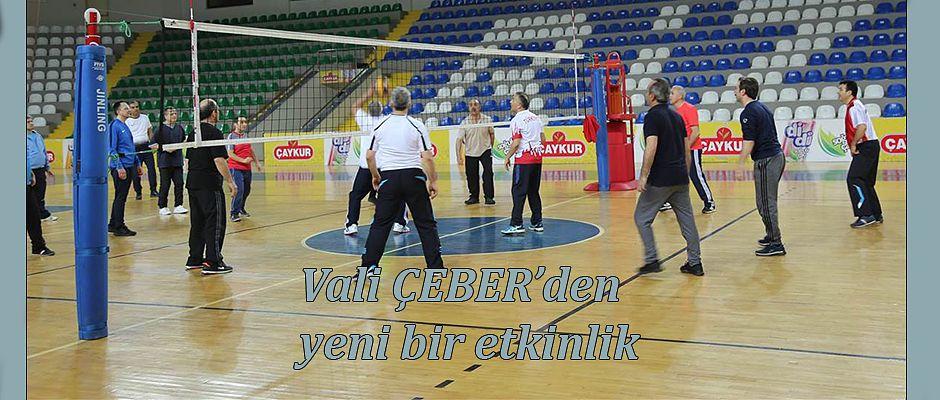 Vali Çeber Spor Etkinliği başlattı