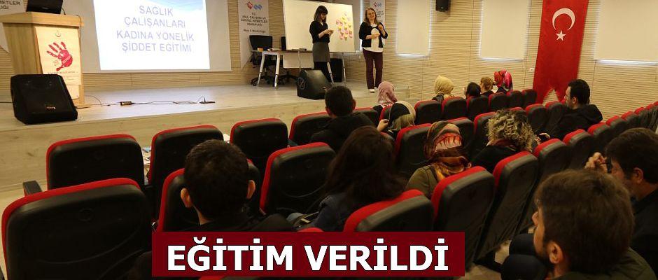 """14 Şubatta """"Kadına Yönelik Şiddetle Mücadele"""" Eğitimi"""
