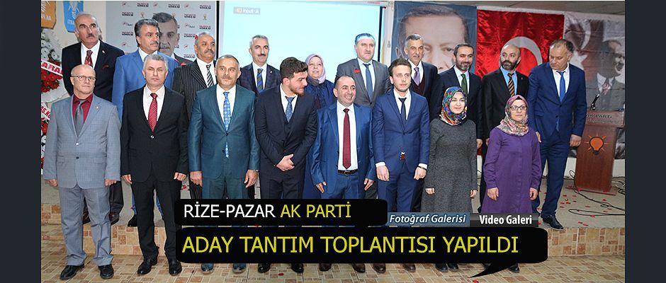 Ak Parti Aday Tanıtımı Toplantısı yapıldı