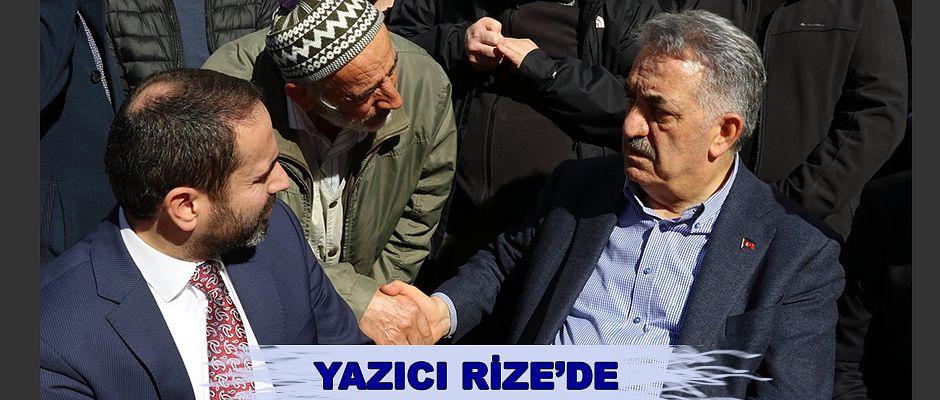 AK Parti Genel Başkan Yardımcısı Yazıcı'dan bir dizi ziyaret