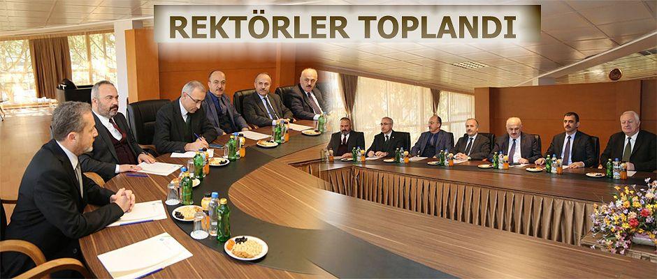 Doğu Karadeniz Bölgesi Rektörleri Ordu'da Toplandı