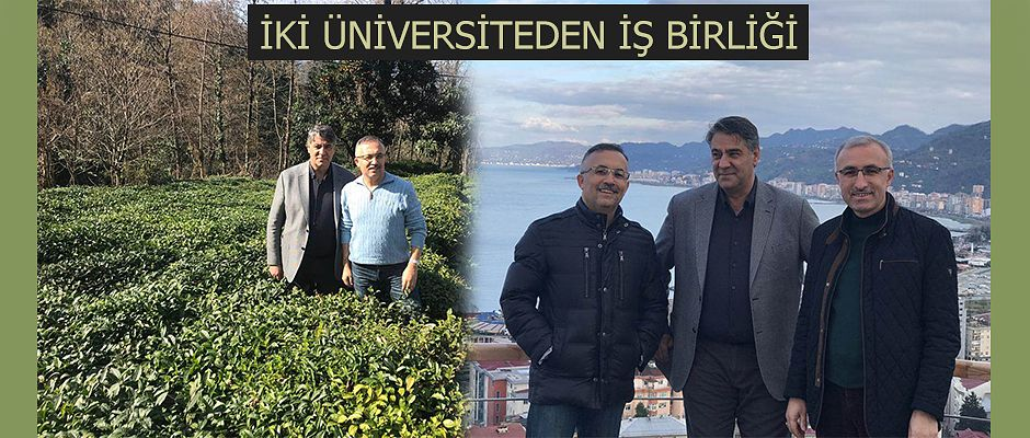 KARABÜK ÜNİVERSİTESİ REKTÖRÜ PROF.DR. POLAT RİZE'DE