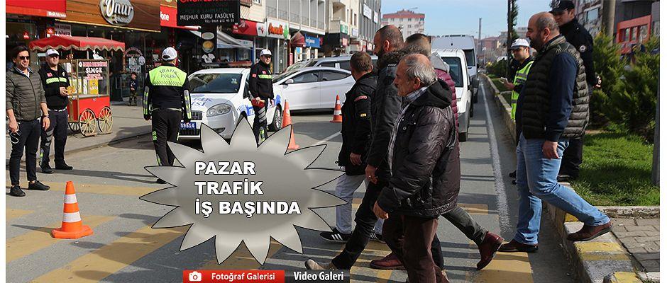 Pazar'da İlgi çeken Trafik Uygulaması