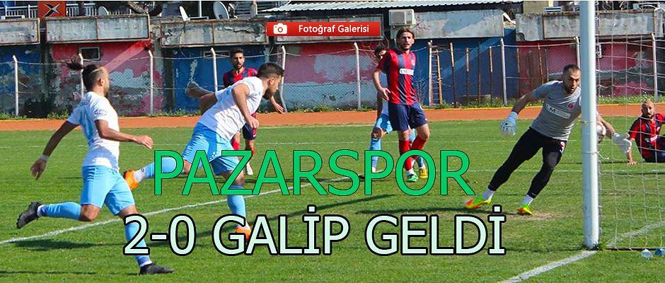 Pazarspor'da yüzler gülüyor