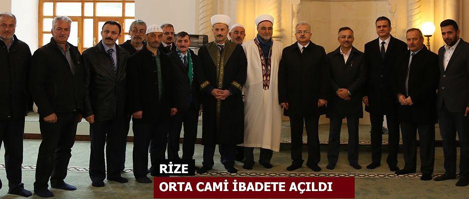 Orta Cami, Yeni Yerinde İbadete Açıldı