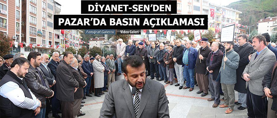 Pazar Diyanet Sen'den Basın açıklaması