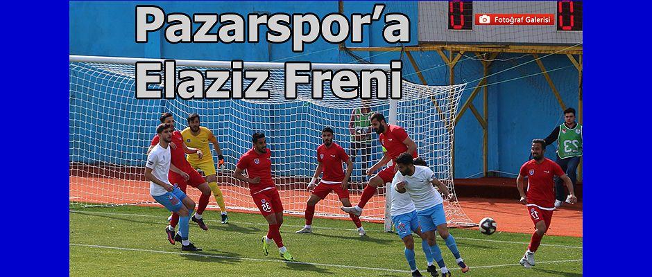 Pazarspor'a Elaziz Freni 0-0