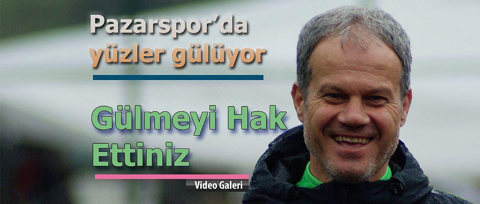 Pazarspor 'da yüzler gülüyor. Hedef Play-Off