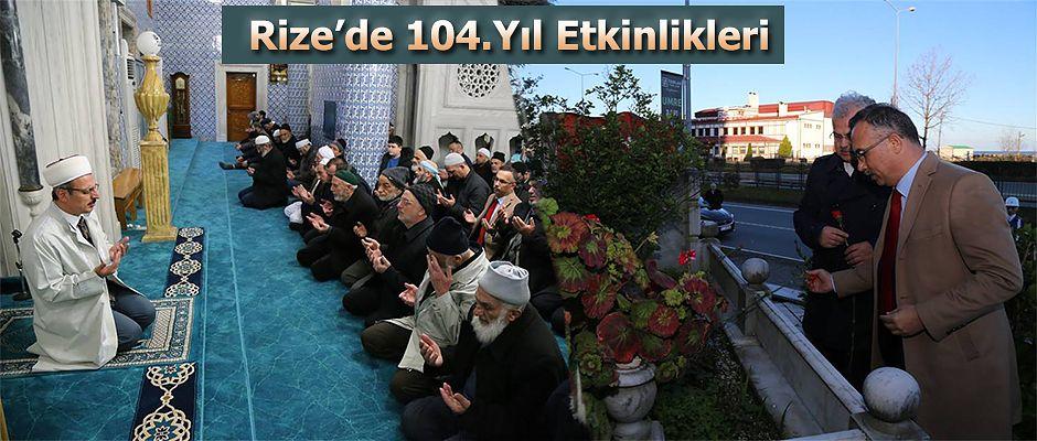 Rize'de 104.yıl etkinlikleri