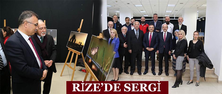 Rize'de Sergi açıldı