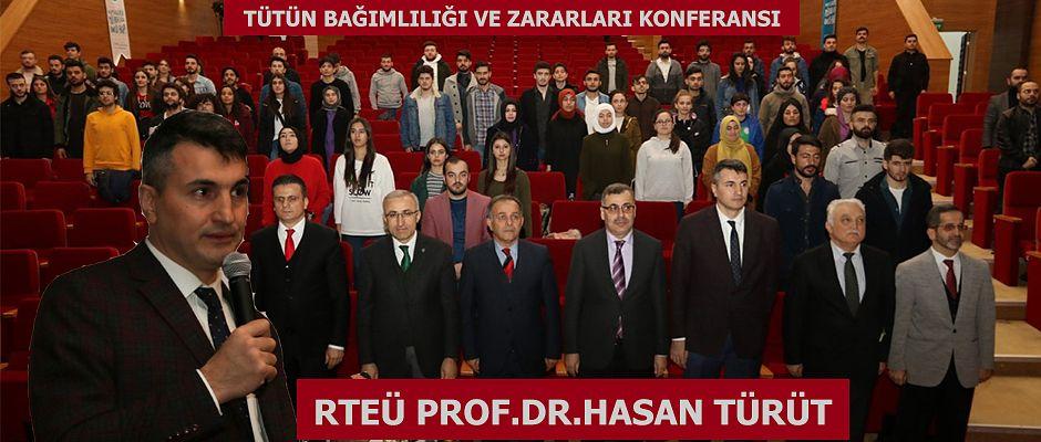 RTEÜ'de Yeşilay Haftası Kapsamında Etkinlik Düzenlendi