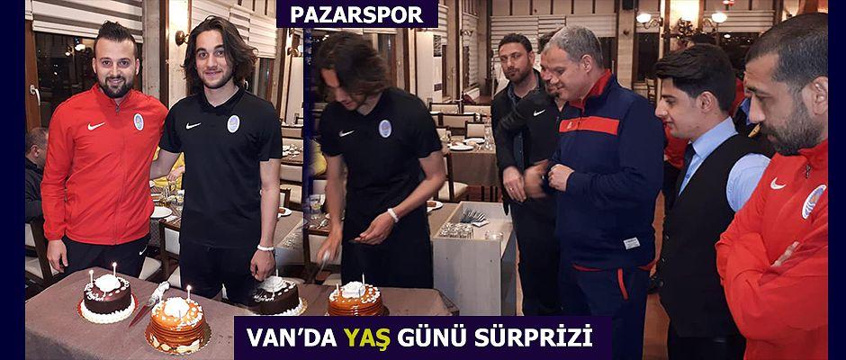 Van'da Doğum günü Pastası