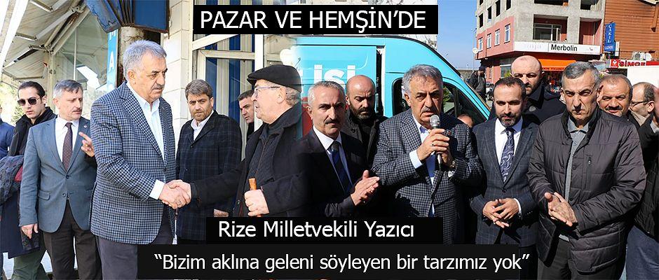 """Yazıcı,  """"AK Parti'nin referansı 17 yıllık Türkiye uygulamasıdır."""""""