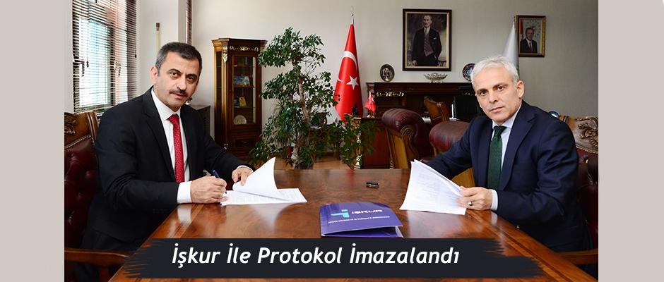 Artvin Çoruh Üniversitesi ve İŞKUR İl Müdürlüğü Arasında Girişimcilik Eğitimi Protokolü İmzalandı