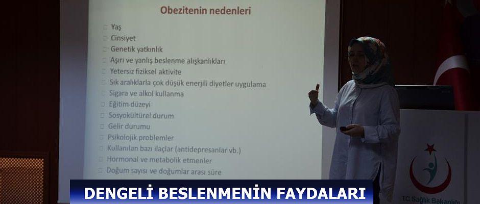 """ARTVİN'DE 'SAĞLIKLI BESLENME VE HAREKETLİ HAYAT İL KURULU"""" TOPLANTISI DÜZENLENDİ."""