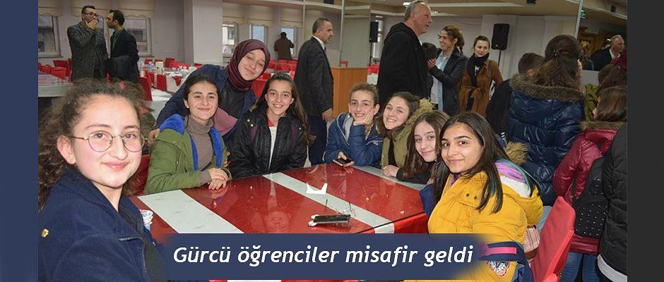 GÜRCÜ ÖĞRENCİLER ARTVİN'DE
