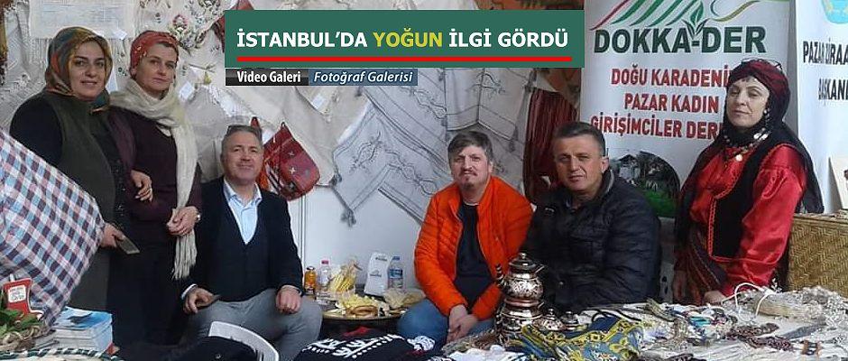 Pazar DOKKA-DER İstanbul'da ilgi odağı oldu