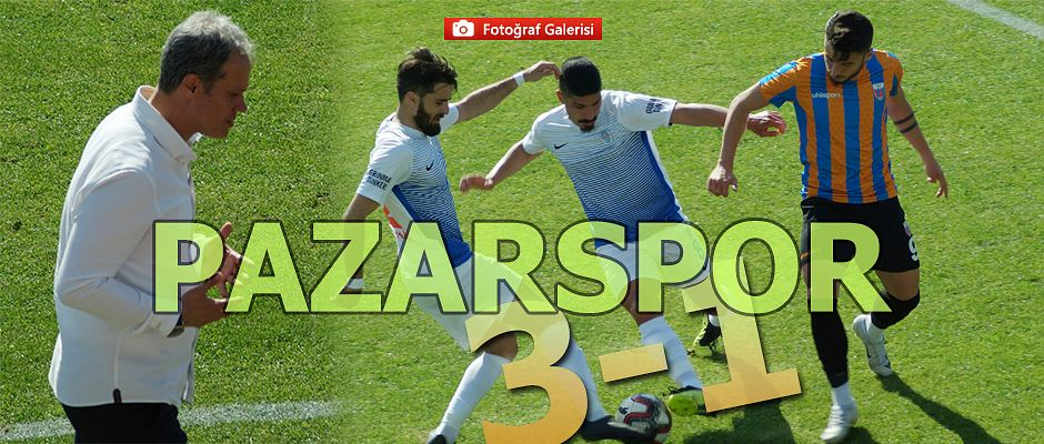 Pazarspor 3-Alibeyköy 1