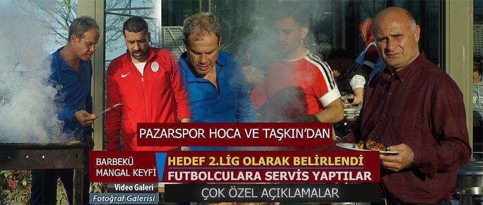 Pazarspor 'da hedef Play-Off ve ardından 2.lig