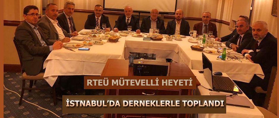 Rize Dernekleri İle İstanbul'da Toplantı Yapıldı