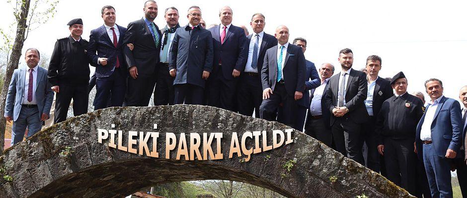 Vali Çeber Park'ın açılışını yaptı