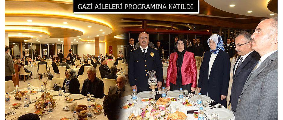Vali Kemal Çeber Şehit ve Gazi Aileleri İçin Düzenlen Programa Katıldı