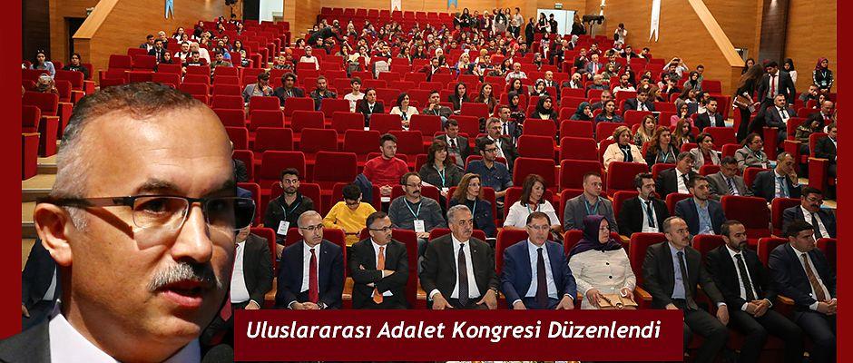 1. Uluslararası Adalet Kongresi Düzenlendi
