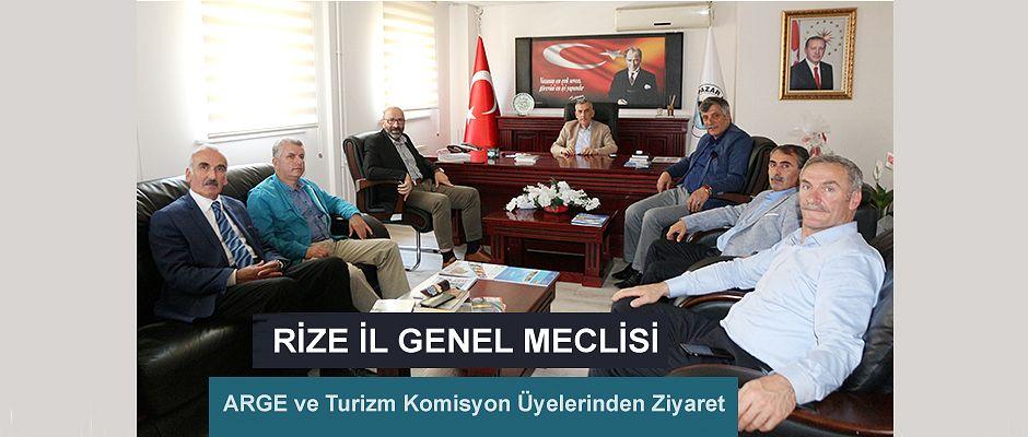 ARGE Ve Turizm Komisyonu üyelerinden Başkan Basa' ya Ziyaret