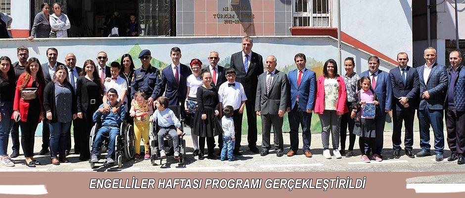 ARHAVİ'DE ENGELLİLER HAFTASI KUTLANDI.