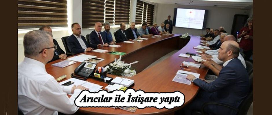 ARTVİN'DE ARICILARIN SORUNLARI İSTİŞARE EDİLDİ