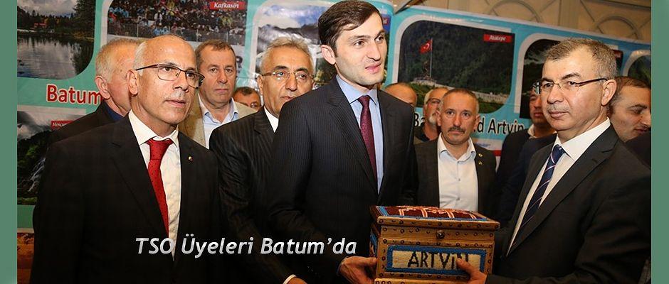 BATUM'DA TURİZM FUARINA KATILDI