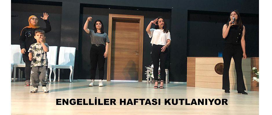 HOPA'DA ENGELLİLER HAFTASI KUTLANDI
