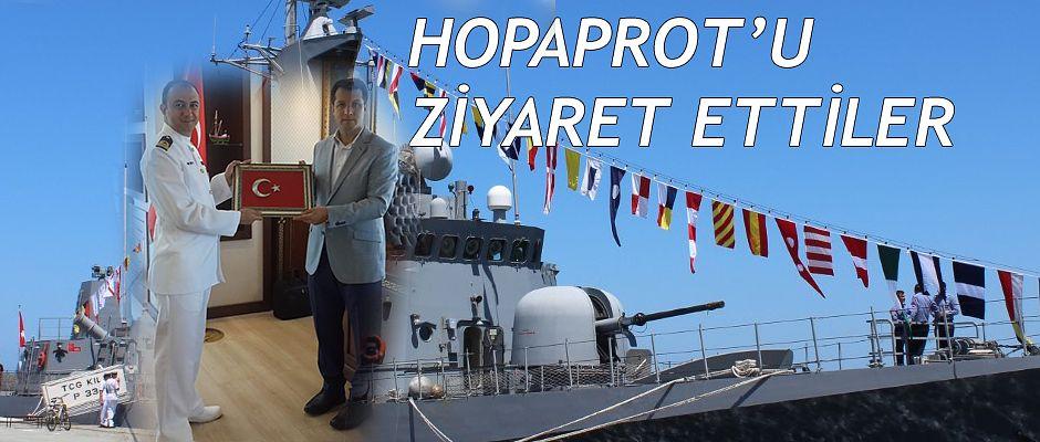 HOPAPORT'UN MİSAFİRİ BU DEFA TCG KILIÇ (P-330) OLDU