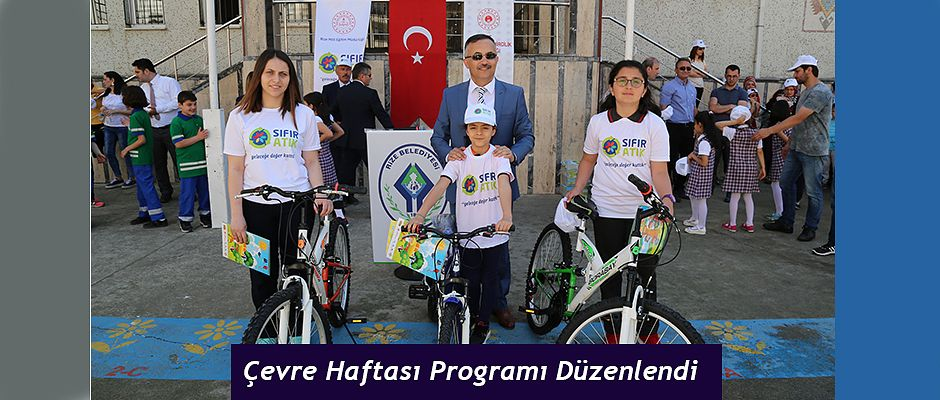 Rize'de Çevre Haftası Programı Düzenlendi