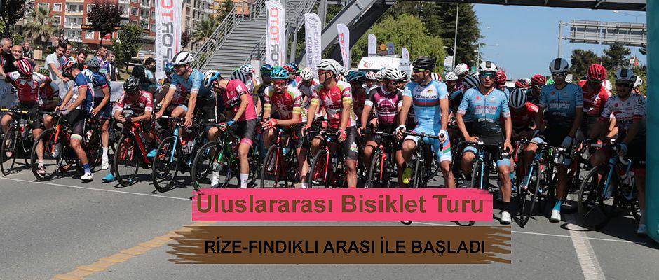 Rize-Giresun-Samsun Uluslararası Bisiklet Turu 1.Etap Yarışı Başladı