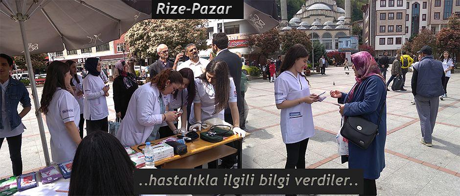 """Rize'de """"Dünya Çölyak Günü"""" etkinlikleri"""