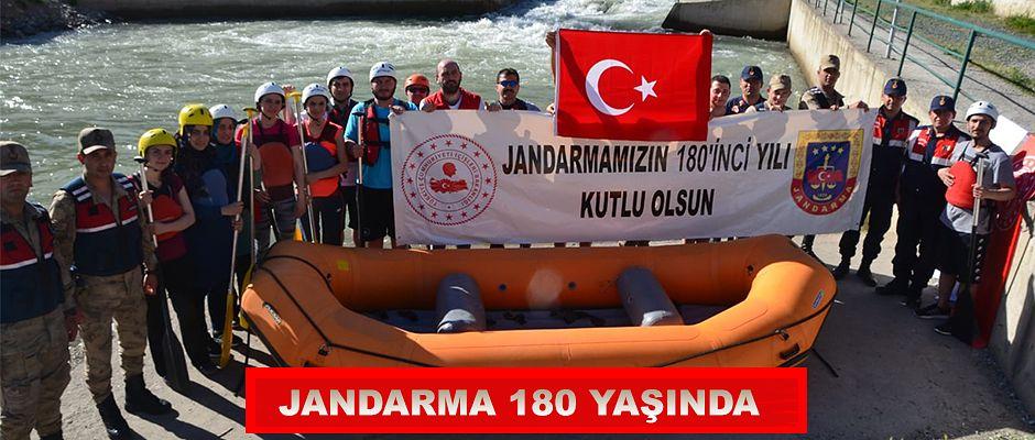 YUSUFELİ'NDE JANDARMA TEŞKİLATININ 180'İNCİ YILI KUTLANIYOR