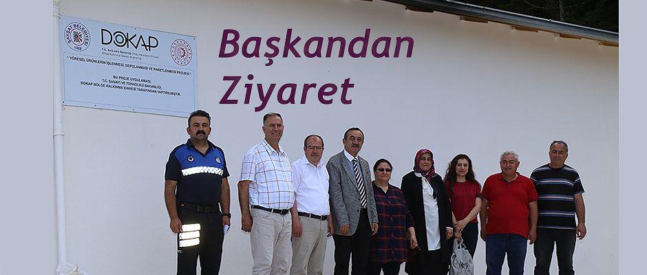 DOKAP BAŞKANI MENGİ ŞAVŞAT'I ZİYARET ETTİ