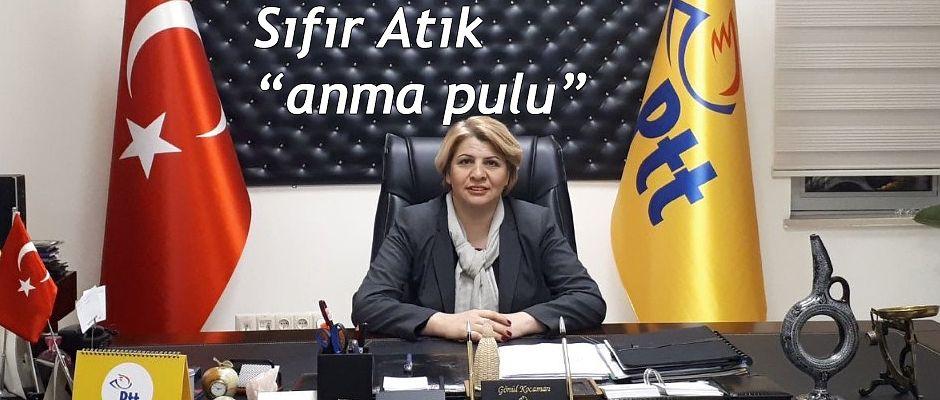 PTT AŞ'DEN ÇEVRE GÜNÜ'NE ÖZEL SIFIR ATIK KONULU ANMA PULU