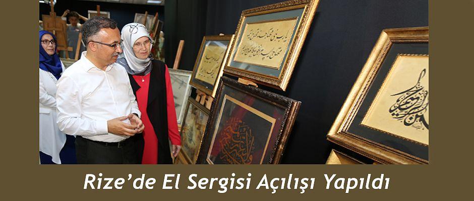 Vali Kemal Çeber, Karma Sanatlar El Sergisinin Açılışını Yaptı
