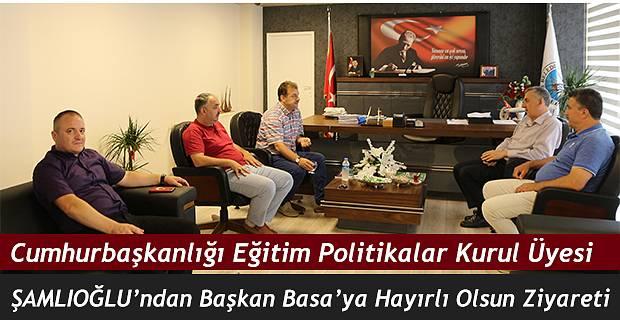 Başkan Basa'yı ziyaret ettiler.
